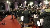 Roma - Mattarella al concerto della Banda della Guardia di Finanza (27.09.19)