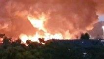 Rouen : l'incendie de l'usine Lubrizol
