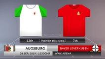 Match Preview: Augsburg vs Bayer Leverkusen on 28/09/2019