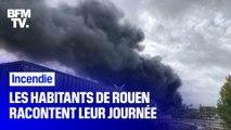 Incendie de l'usine Lubrizol à Rouen: les habitants racontent ce qu'ils ont vécu