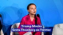 Trump Versus A Young Climate Activist