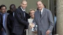 Zidane : « Je suis triste, Chirac a été le président de tous les sportifs »