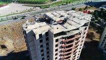 Erzurum'da new city konutlarını yıkan firma yetkilisi mezarlık inşa edilmiş -arşiv