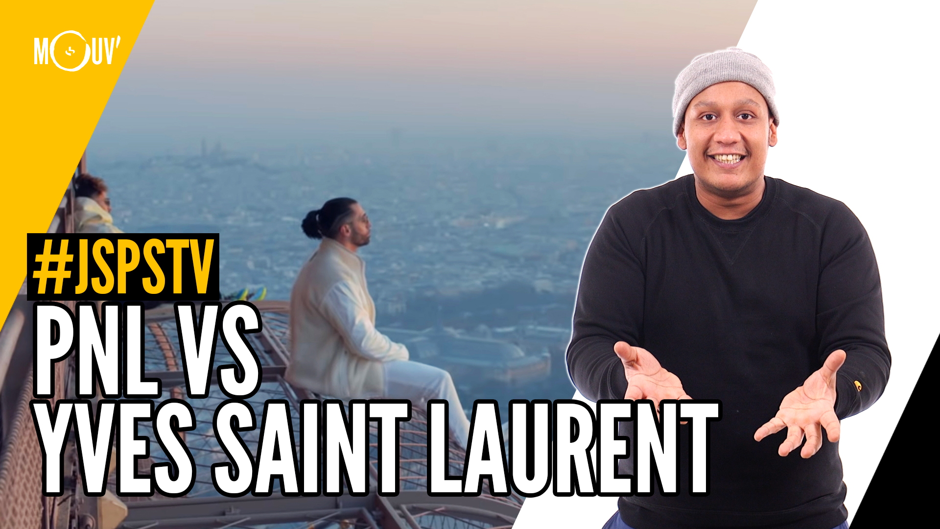 Je sais pas si t'as vu… PNL vs Yves Saint Laurent