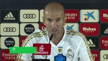 """Zidane : """"Hazard est prêt pour jouer des matches comme ce derby"""""""