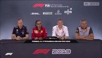 F1 2019 Russian GP-Team principals' Press Conference