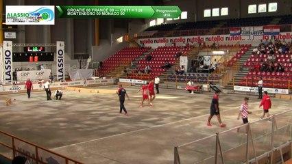 Quarts de finale, tir de précision U18, Mondial Jeunes U18 et U23, Alassio 2019