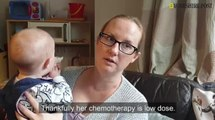 Leeds family speak of toddler daughter's cancer diagnosis