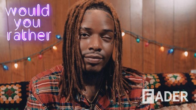Fetty Wap creates his own parade in Paterson, teleports his car, and hates neon colors in 'Would You Rather'