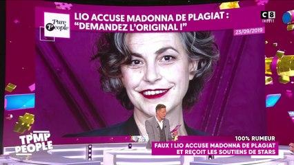 Lio accuse Madonna de plagiat