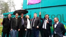Vesoul : inauguration de la fresque Jacques Brel