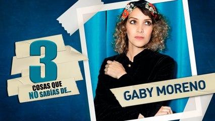 LATIDO MUSIC TRES COSAS QUE NO SABIAS DE Gaby Moreno