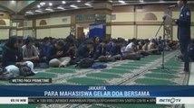 Ratusan Mahasiswa Gelar Doa Bersama Bagi Kedamaian Bangsa