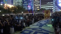 Hong Kong protesters denounce police ahead of flashpoint weekend