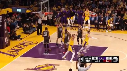NBA 2018-19 - Los Angeles Lakers vs Golden State Warriors - Highlights