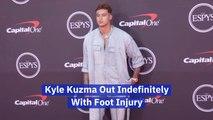 Kyle Kuzma Was Injured Playing With Team USA