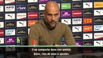 """Manchester City - Guardiola : """"Mendy est comme un frère pour Bernardo Silva"""""""