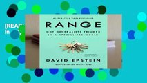 [READ] Range: Why Generalists Triumph in a Specialized World