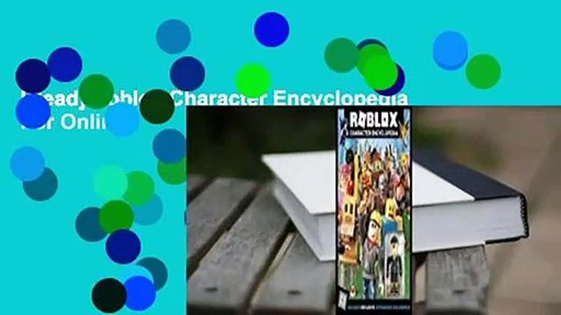 Read Roblox Character Encyclopedia For Online Video Dailymotion