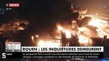 """""""La ville de Rouen est clairement polluée"""" affirme la ministre de la Santé Agnès Buzyn après l'incendie de l'usine Lubrizol"""