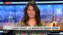 La minute de silence en hommage à l'ancien président perturbée hier soir à l'Euro de volley par des insultes, des cris et des sifflets