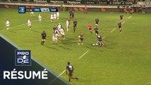 PRO D2 - Résumé Provence Rugby-Vannes: 45-24 - J05 - Saison 2019/2020