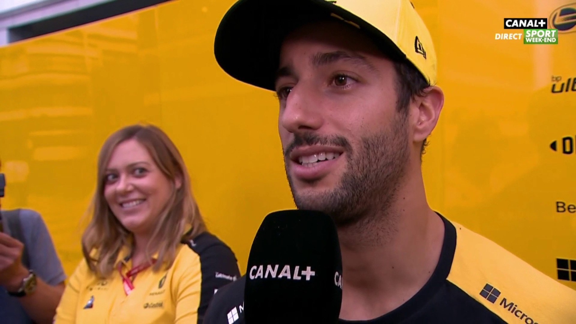 Ricciardo en chanson