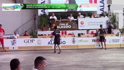 Demi-finales, tir de précision U18, Mondial Jeunes U18 et U23, Alassio 2019