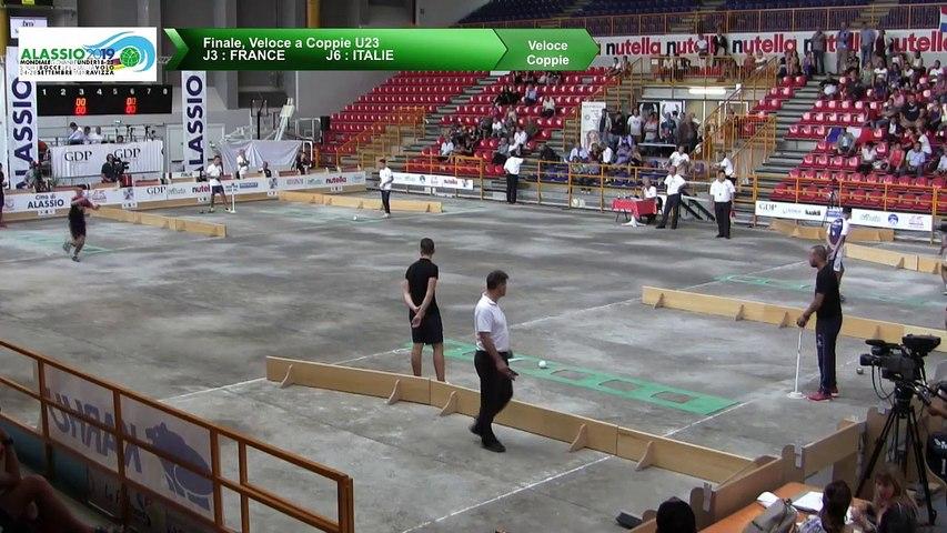 Finale, tir rapide en double U23, Mondial Jeunes U18 et U23, Alassio 2019