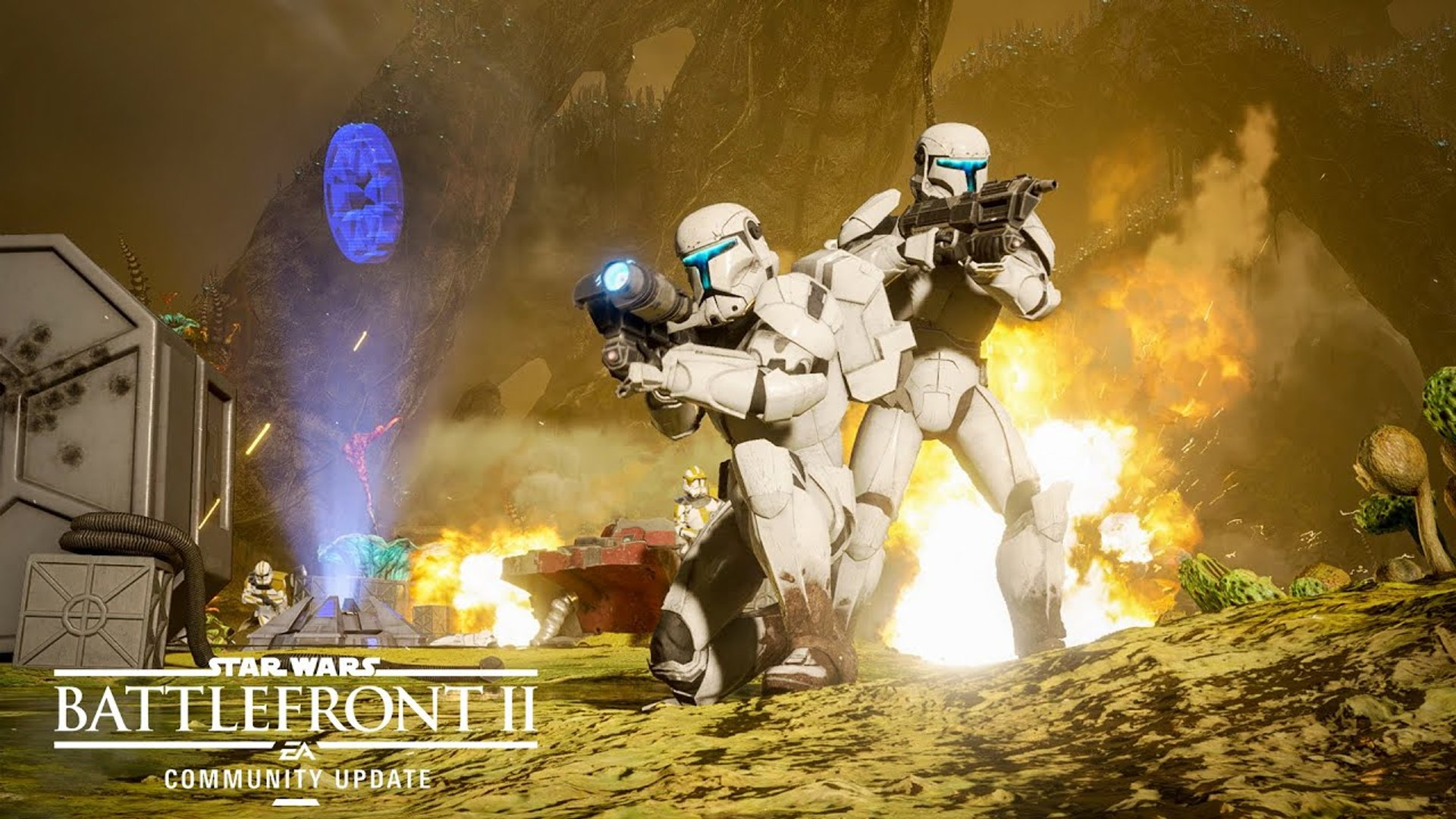 Star Wars Battlefront 2 New Planet Modes Reinforcements Community Update 2019 Video Dailymotion