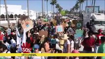 Maroc : plusieurs centaines de personnes manifestent pour le climat