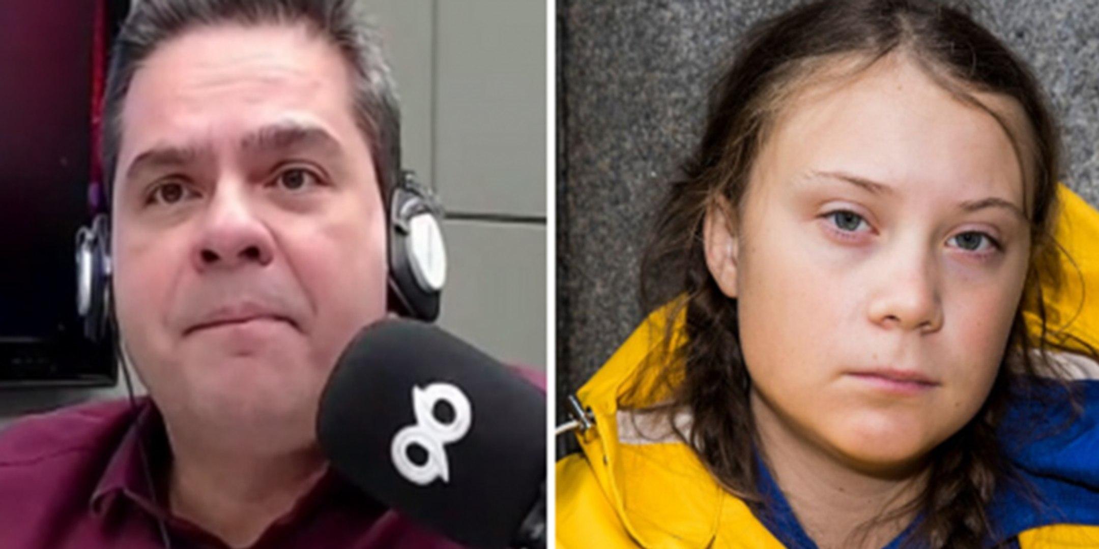 """Locutor de radio es despedido en Brasil tras sus desafortunados comentarios sobre Greta Thunberg; """"N"""