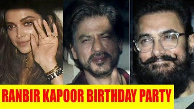 Deepika,Arjun Kapoor, Malaika Arora and many other celebs at Ranbir Kapoor' Birthday