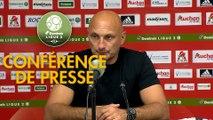 Conférence de presse AC Ajaccio - Valenciennes FC (2-0) : Olivier PANTALONI (ACA) - Olivier GUEGAN (VAFC) - 2019/2020