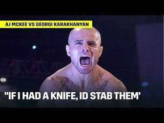 FEATHERWEIGHT GRAND PRIX | McKee vs Karakhanyan