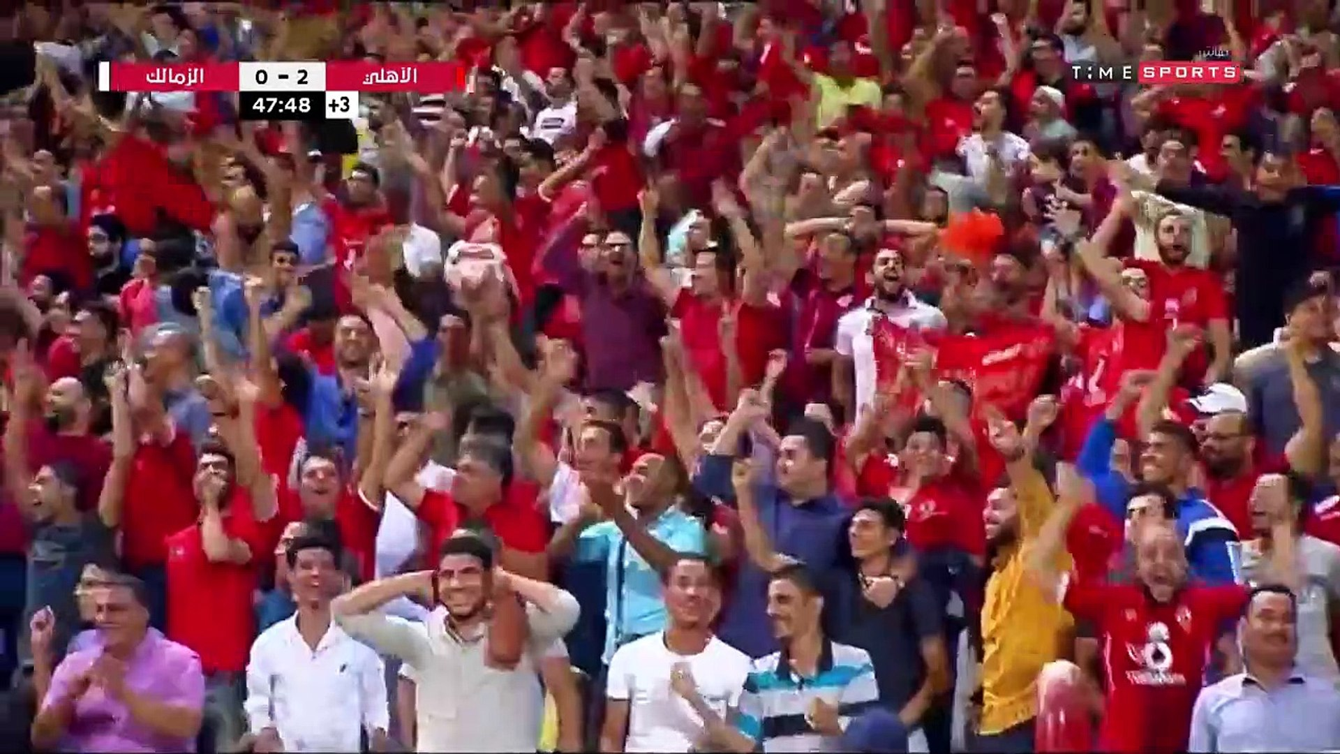 بالفيديو | تتويج الاهلي بلقب السوبر المصري بعد فوزة على الزمالك (3-2)