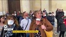Incendie d'un site Seveso à Rouen : des riverains en colère s'inquiètent et portent plainte