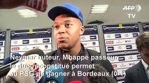 Grâce à Neymar et Mbappé, Paris s'impose 1-0 à Bordeaux