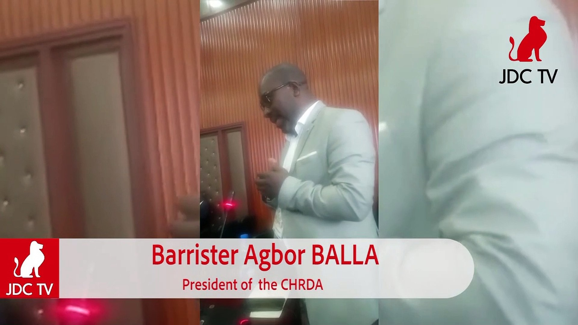 Major National Dialogue: BAR AGBOR BALLA says Federation can solve Anglophone crisis