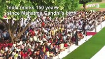 Indian PM Modi marks 150th anniversary of Gandhi's birth