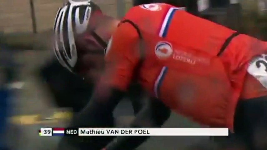 Cycling - Yorkshire 2019 - The incredible failure of Mathieu van der Poel 10 km from victory: a munchies