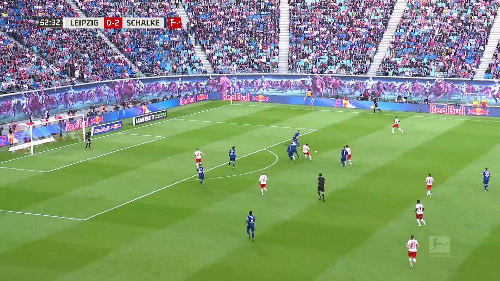 6. Hafta / RB Leipzig - Schalke 04: 1-3 (Özet)