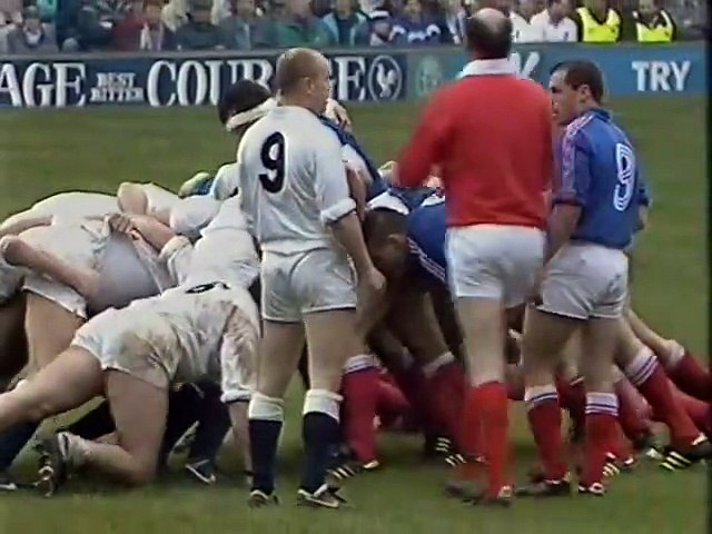 Rugby Union Five Nations 1991 - Scotland v Ireland - Highlights