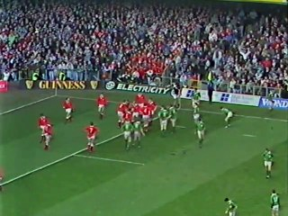Rugby Union Five Nations 1991 - Wales v Ireland - Highlights