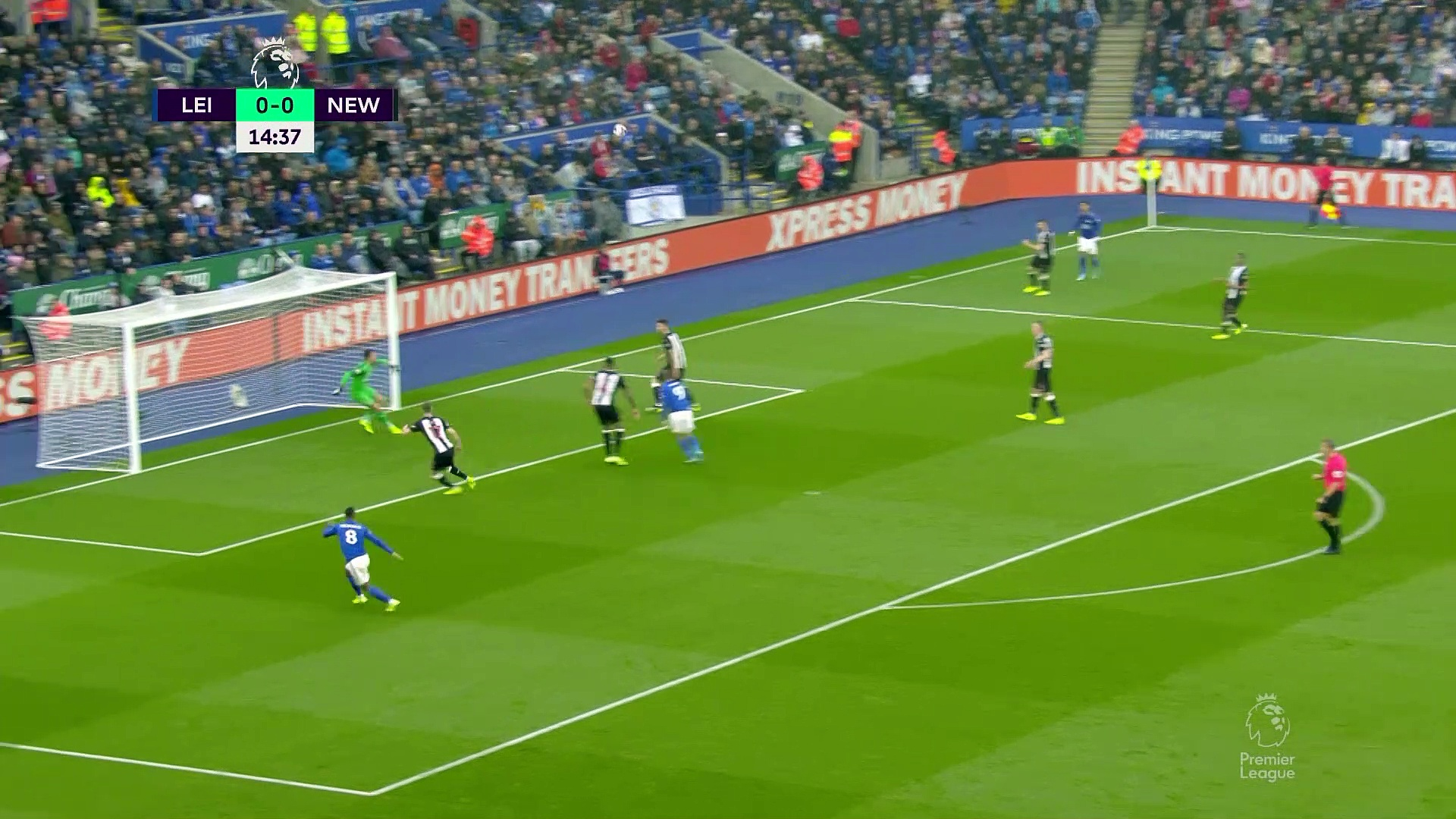 7. Hafta / Leicester City - Newcastle United: 5-0 (Özet)