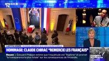 Hommage à Jacques Chirac aux Invalides: Claude Chirac remercie les Français (2/2) - 29/09