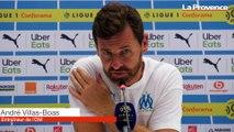 """OM-Rennes : """"Cette première période, c'est ma responsabilité"""" (Villas-Boas)"""