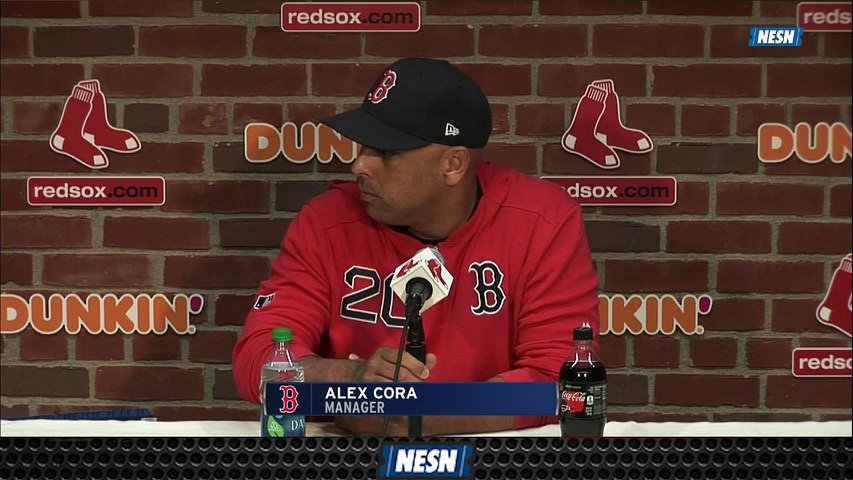 Red Sox Manager Alex Cora On Team's Wild Walk-Off Finish Vs. Orioles