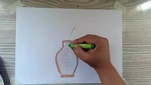 HOW TO DRAW BEAUTIFUL VASE