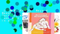 [NEW RELEASES]  Beyond Beautiful: A Practical Guide to Being Happy, Confident, and You in a